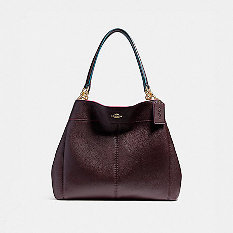 COACH f23008 LEXY SHOULDER BAG WITH EDGEPAINT IMFCG