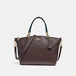 SMALL KELSEY SATCHEL WITH EDGEPAINT - IMFCG - COACH F23009