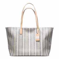 COACH LEGACY WEEKEND PVC ZIP TOP TOTE - ONE COLOR - F23108
