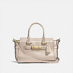 COACH SWAGGER 27 - f23197 - PLATINUM/LIGHT GOLD