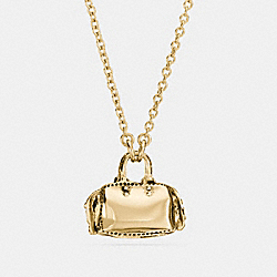 DEMI-FINE ROGUE NECKLACE - GOLD - COACH F23228