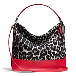 COACH PARK OCELOT PRINT HOBO - ONE COLOR - F23266