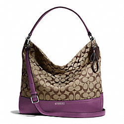 COACH PARK SIGNATURE HOBO - ONE COLOR - F23279