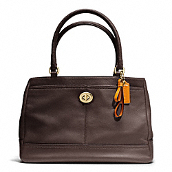 COACH PARK LEATHER CARRYALL - ONE COLOR - F23280