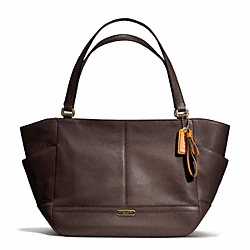 COACH PARK LEATHER CARRIE TOTE - ONE COLOR - F23284