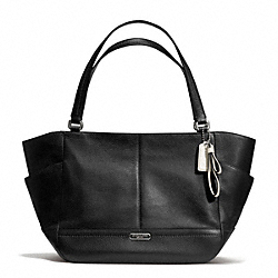 COACH PARK LEATHER CARRIE - SILVER/BLACK - F23284