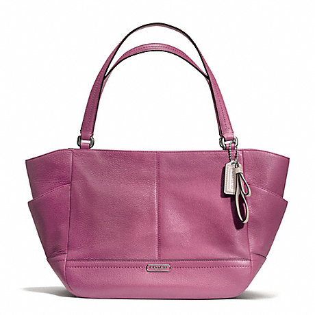 COACH f23284 PARK LEATHER CARRIE SILVER/ROSE