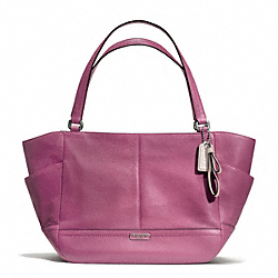 COACH PARK LEATHER CARRIE - SILVER/ROSE - F23284