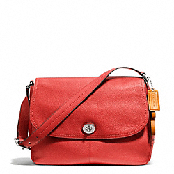 COACH PARK LEATHER FLAP BAG - ONE COLOR - F23288