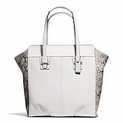COACH TAYLOR MIXED LEATHER NORTH/SOUTH TOTE - ONE COLOR - F23303