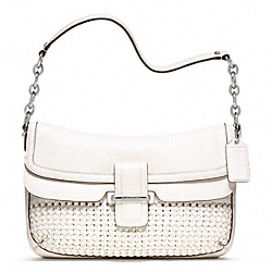 COACH MADISON WOVEN FLAP - ONE COLOR - F23343
