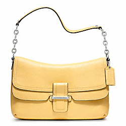 COACH MADISON LEATHER FLAP - ONE COLOR - F23346