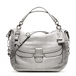 COACH MADISON PINNACLE EMBOSSED METALLIC PYTHON EVA - ONE COLOR - F23431