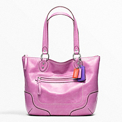 COACH POPPY LEATHER SMALL TOTE - ONE COLOR - F23441