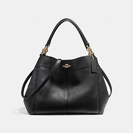 COACH f23537 SMALL LEXY SHOULDER BAG IMITATION GOLD/BLACK