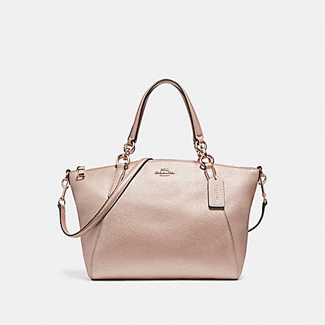 COACH SMALL KELSEY SATCHEL - LIGHT GOLD/PLATINUM - f23538