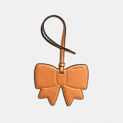 BOW ORNAMENT - METALLIC ORANGE - COACH F23558