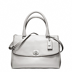 COACH PINNACLE LEATHER HARPER SATCHEL - ONE COLOR - F23562