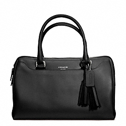 COACH LEATHER HALEY SATCHEL - ONE COLOR - F23574