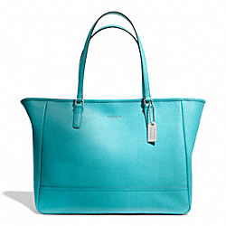COACH SAFFIANO MEDIUM CITY TOTE - ONE COLOR - F23576