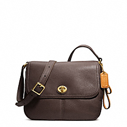 COACH PARK LEATHER VIOLET CROSSBODY - ONE COLOR - F23663
