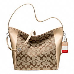 COACH WEEKEND SIGNATURE C SHOULDER BAG - ONE COLOR - F23702