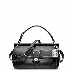 COACH LEATHER EAST/WEST WILLIS - ONE COLOR - F23707