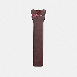 COACH OUTLAW BOOKMARK - OXBLOOD - F23728