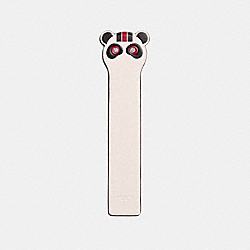 ROCKY BOOKMARK - CHALK - COACH F23730