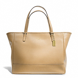 COACH LARGE CITY TOTE - BRASS/CAMEL - F23822