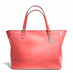 COACH LARGE CITY TOTE - SILVER/CORAL - F23822