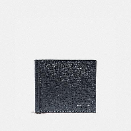 COACH MONEY CLIP BILLFOLD - DENIM - f23847