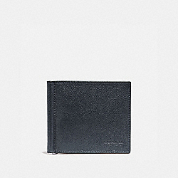 COACH MONEY CLIP BILLFOLD - DENIM - F23847