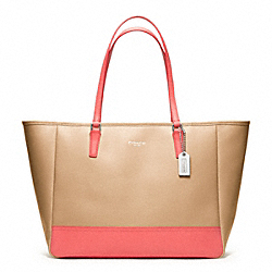 COACH MEDIUM COLORBLOCK CITY TOTE - ONE COLOR - F23884