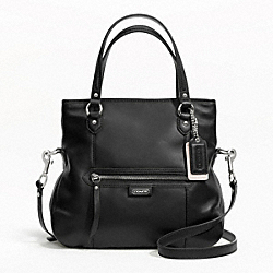COACH DAISY LEATHER MIA - SILVER/BLACK - F23901