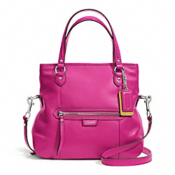 COACH DAISY LEATHER MIA - SILVER/BRIGHT MAGENTA - F23901