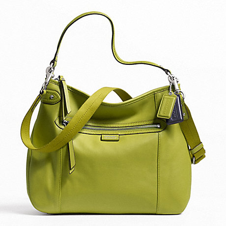 COACH f23937 DAISY LEATHER CONVERTIBLE HOBO