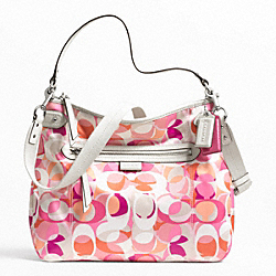 COACH DAISY KALEIDOSCOPE PRINT CONVERTIBLE HOBO - ONE COLOR - F23957