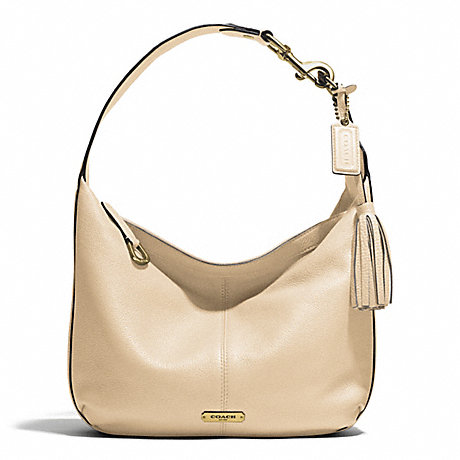 COACH AVERY LEATHER SMALL HOBO -  - f23960