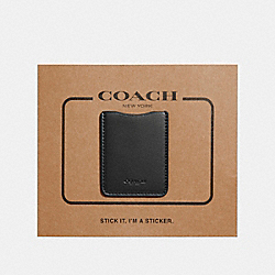 COACH POCKET STICKER - BLACK - F24051