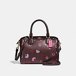 COACH MINI BENNETT SATCHEL WITH PRIMROSE FLORAL PRINT - IMFCG - F24077