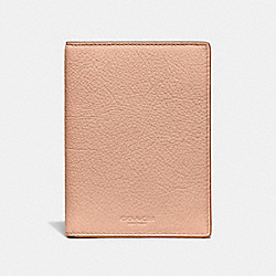 PASSPORT CASE - NUDE PINK/GOLD - COACH F24080