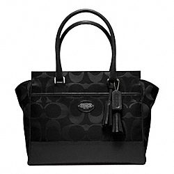COACH SIGNATURE MEDIUM CANDACE CARRYALL - ONE COLOR - F24203