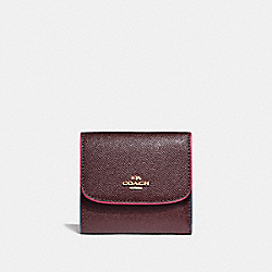 COACH SMALL WALLET WITH EDGEPAINT - IMFCG - F24286