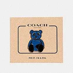 COACH ACE PIN - MULTICOLOR - F24358