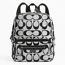 DAISY OUTLINE SIGNATURE METALLIC BACKPACK - f24365 - 15346