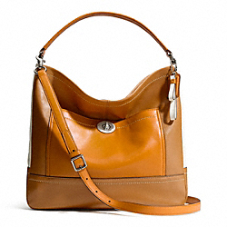 COACH PARK COLORBLOCK HOBO - SILVER/NATURAL MULTI - F24369