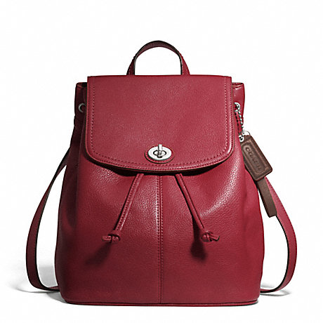 COACH f24385 PARK LEATHER BACKPACK