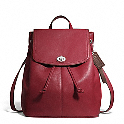 COACH PARK LEATHER BACKPACK - ONE COLOR - F24385