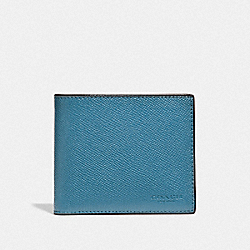 3-IN-1 WALLET - CHAMBRAY - COACH F24425